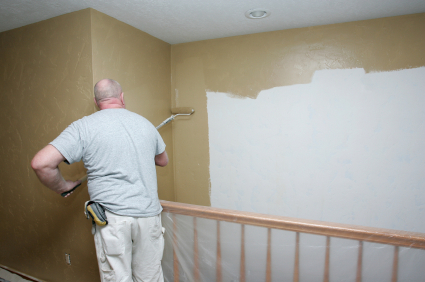 The average cost of a home interior paint job home owner - Exterior house painting cost per square foot ...