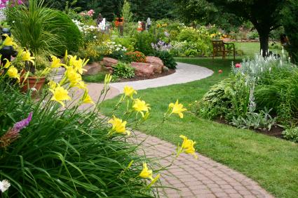 garden walkway pavers