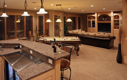 Tips and Ideas when Remodeling Your Basement into a Man Cave Home