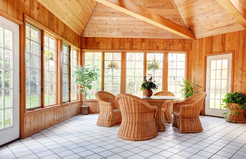 Sunroom Ideas Cost the average cost of adding a new sunroom to your home - home owner ideas