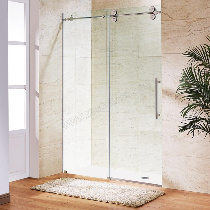 8mm-Frameless-Silding-Glass-Shower-Doors-with-Clear-Glass